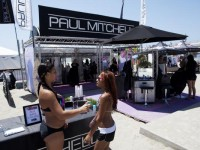 Paul Mitchell keeps the crowd and athletes looking good